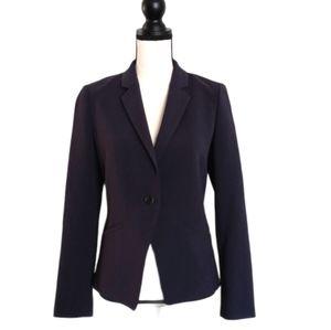 Tory Burch Cinched Tie Back Blazer